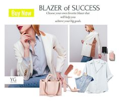 """Blazer of Success"" by yuliagural ❤ liked on Polyvore featuring Kendra Scott, Corto Moltedo, Chanel, Steve Madden and NARS Cosmetics"