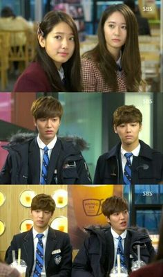 HEIRS- Hahaha! Loved this part!