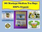 Moringa Oleifera Organic TEA 90 Tea Bags