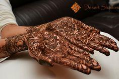 Henna gloves. Good luck Charmaine!