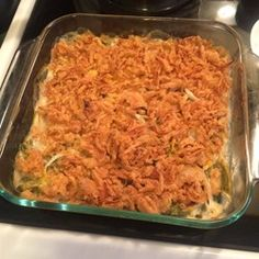 This traditional casserole made with cut green beans, cream of mushroom soup, and French fried onions is the perfect addition to your holiday table. Artichoke Casserole Recipe, Greenbean Casserole Recipe, Casserole Recipes, Creamy Green Beans, Summer Squash Casserole, Best Green Bean Casserole, Candied Sweet Potatoes, French Fried Onions, Vegetable Casserole