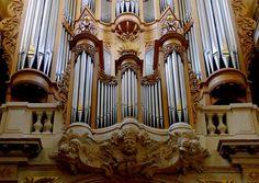 Le grand orgue de l'Église Saint-Louis-en-l'Île