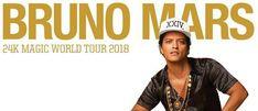 Bruno Mars llega a Barcelona 24K Magic World Tour