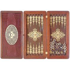 20 Handmade Wooden Backgammon  EAST by Tobaccopipesshop on Etsy
