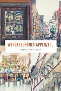 Die schönsten Orte und hübschesten Cafés in Appenzell in der Schweiz. Wo findet man schon einen Ort, wo man auf so kleinem Raum so viel erleben kann?