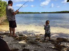 Like Father, Like Son Fishing In The Keys