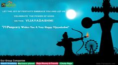 71 property wishes you a very happy Vijaya dashami to all Property Builders & Agents. For further information Visit @ 71property.com