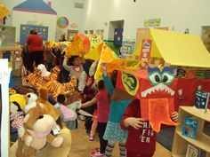 "We had a Chinese New Year ""Dragon Parade"" at our preschool!"