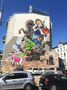 Artista: NOM Equipes (Obie Platon, Irlo & Kero)  Bucareste, Romênia
