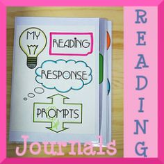Great ideas for reading journals.