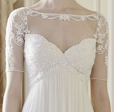 jenny packham genevieve hand beaded detail - - I LOVE LOVE LOVE the delicate beading of this bodice.....hmmm hope, wish, dream
