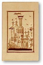 Fairytale Castle Springerle Mold