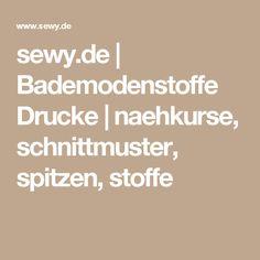 sewy.de | Bademodenstoffe Drucke  | naehkurse, schnittmuster, spitzen, stoffe