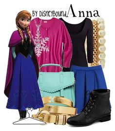 Anna by leslieakay on Polyvore featuring polyvore, fashion, style, H&M, Boohoo, Sperry Top-Sider, ASOS, Charlotte Russe, Bridge Jewelry, Mossimo Supply Co. and Disney