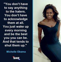Michelle obama michelle obama, greatest presidents, education system, women empowerment, make you Michelle Obama Quotes, Barack And Michelle, Wisdom Quotes, True Quotes, Great Quotes, Inspirational Quotes, Motivational Quotes, Isagenix, Greatest Presidents