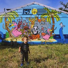 Graffiti hunting with dad! #senorgrubbys #carlsbad5000 by radleykai