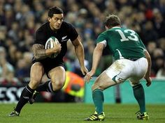 Two of my favorite players Sonny Bill Williams and Brian O'Driscoll