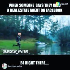 ROFLMAO!! #facts . . . #century21 #realestate #century21americanhomes #realtor #firsttimehomebuyer #forsale #sold #callme #icomerunning #milliondollarlisting #homesforsale #househunting #love #myjob #localrealtors - posted by Matthew Schnepf Century 21 https://www.instagram.com/matthewschnepf - See more Real Estate photos from Local Realtors at https://LocalRealtors.com