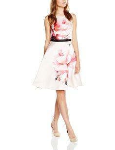 Coast Women's Kendrina Santiago Mini Sleeveless Dress, Pink (Blush), 12 (Manufacturer Size: 38): Amazon.co.uk: Clothing