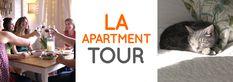 LA Apartment Tour, f