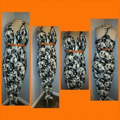 Beautiful sundress SOLD*** A fab black & white maxi dress  With open top back  Will be cut to tea length  Size: Large/XL Nirobiscloset  Dresses