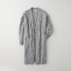 Acne Raya Mohair Long Sweater Winter-12 #scandinacianstyle #scandinavia #acne #FCwinter #longcardigan