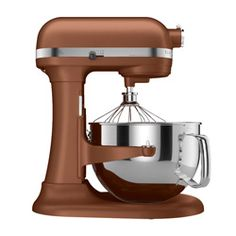 @Overstock - Make almost any batter or dough with this professional grade stand mixer from KitchenAid. The mixer attachments spin and rotate around the inside of the bowl to ensure effective mixing and aerating. ...http://www.overstock.com/Home-Garden/KitchenAid-KP26M1XCE-Copper-Pearl-Professional-600-Stand-Mixer/2538128/product.html?CID=214117 Add to cart to see special price
