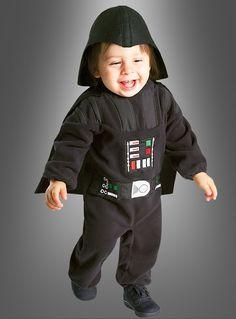 STAR WARS Darth Vader Strampler Babykostüm
