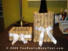 wine cork projects - Bing Images
