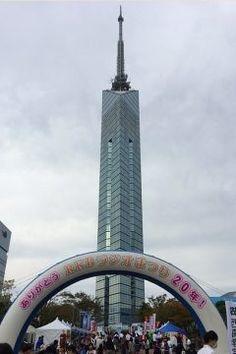 今日の福岡タワー界隈は第20回RKBラジまつりでとっても賑わっていますよ(o)  明日も開催されるみたいなのでぜひ足を運んでみて下さい  今日はちょっと風が強いです tags[福岡県]