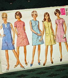 Vintage 1960s Sewing Pattern Simplicity  7530 by Old2NewMemories, $5.75