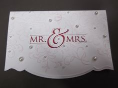 Sconebeker Stempelscheune - Stampin up Sets : Mr. & Mrs., Kreative Elemente