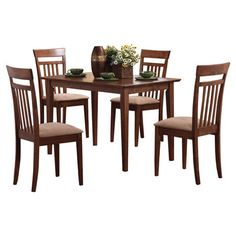 Wildon Home ® West Hollywood 5 Piece Dining Set