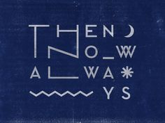 trendgraphy:  Then Now Always by Greg Perkins