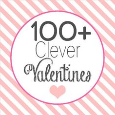 anna and blue paperie: 100+ Clever Valentines