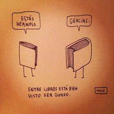 Entre libros...
