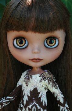 Beautiful brunette Blythe