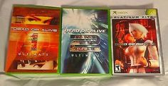 Dead or Alive Original Microsoft Xbox Game Bundle. 3 Games Included!