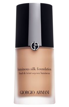 Giorgio Armani 'Luminous Skin' Foundation: Makeup pros like Lloyd Simmonds and Aaron de Mey are in love with its velvety texture, due to microfine pigments that dissolve into skin. See the 29 other powerhouse products that have been on ELLE's pages for years.