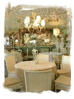 I absolutely LOVE the Garden Gate Tea Room - Mt. Dora, FL . . . . . one of my favorite EVER place - amazing food - stunning presentation!!