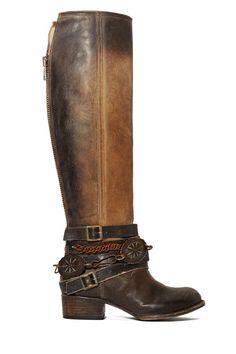 Freebird by Steven Aspen Boot - Shoes | Knee High | Flats
