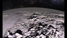 Animated Flyover of Pluto's Icy Mountain and Plains - video dailymotion Gif Of The Day, Our Solar System, Outer Space, July 14, Animation, Earth, Latest Images, Astronomy, Nasa