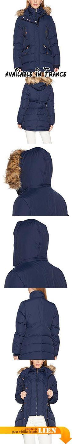 B06XG115YY : Carolina Cavour CC17W020 Blouson Femme Blau (Abyss 437) 40 (Taille Fabricant: M).