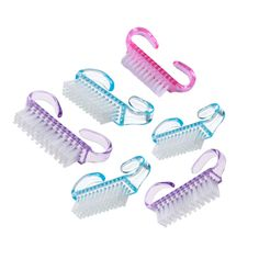 Best Deal New Good Quality 6 PCS Nail Art Cleaning Brush After File Manicure Pedicure Nail Art Tools