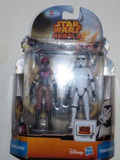 ToyzMag.com » Star Wars Rebels : Review Sabine Wren & Stormtrooper (Mission Series)