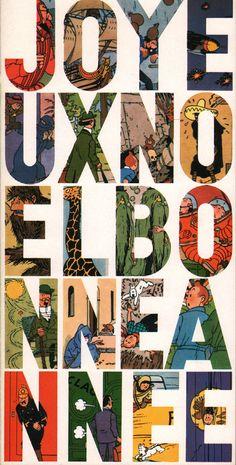 Carte de voeux Hergé 1965