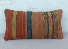 VINTAGE Home Decor  Handwoven Turkish Kilim Pillow by pillowsstore, $39.00