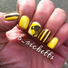 hawks Hawthorn Football Club by b_ricketts #nail #nails #nailart