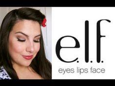 Emily... 1 brand face tutorial... E.L.F.