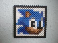 Sonic 1up bead by CmOrigins.deviantart.com on @deviantART